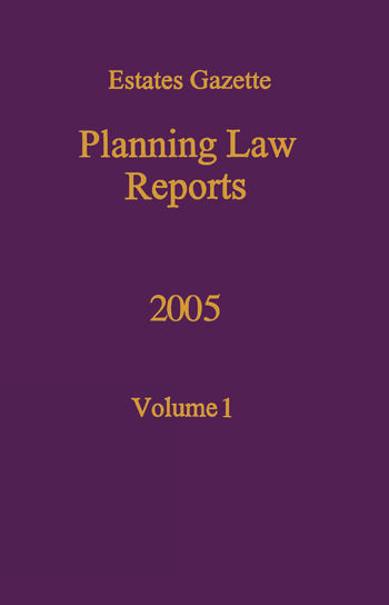 PLR 2005 book cover
