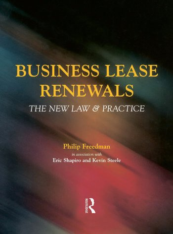 Business Lease Renewals book cover