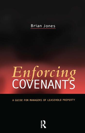 Enforcing Covenants book cover