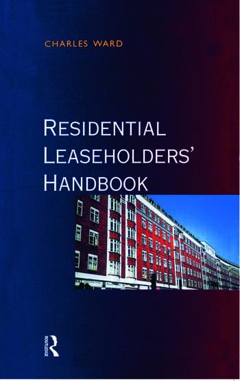 Residential Leaseholders Handbook book cover