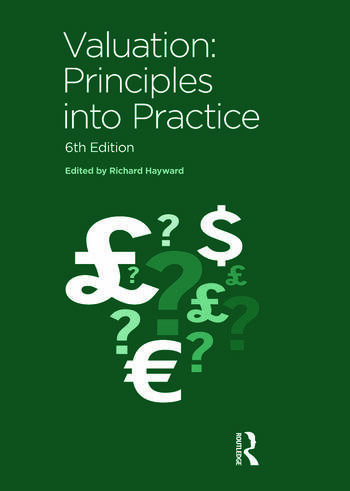 Valuation Principles into Practice book cover