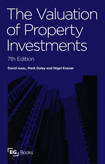 The Valuation of Property Investments book cover