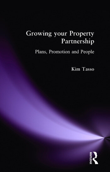 Growing your Property Partnership Plans, Promotion and People book cover