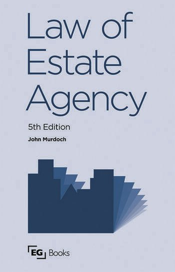 Law of Estate Agency book cover