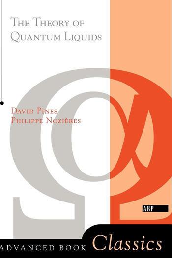 Theory Of Quantum Liquids book cover