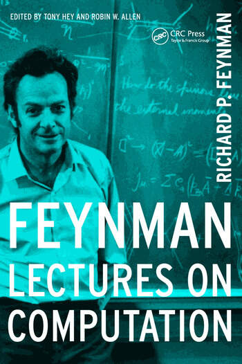 Feynman Lectures On Computation book cover