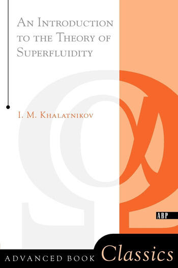 An Introduction To The Theory Of Superfluidity book cover