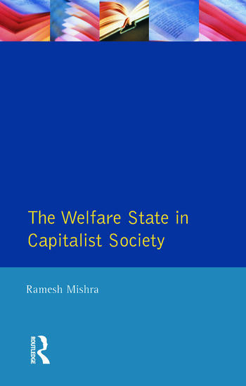 Welfare State Capitalst Society book cover