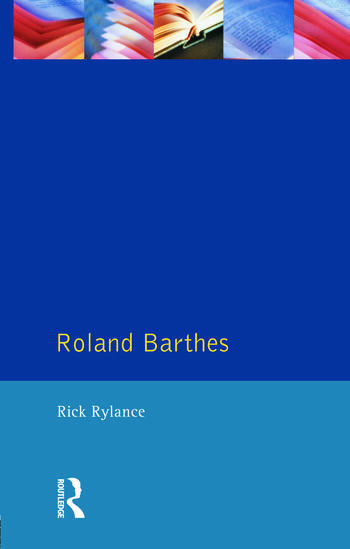 Roland Barthes book cover