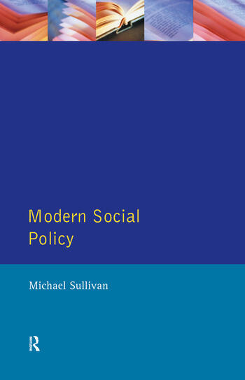 Modern Social Policy book cover