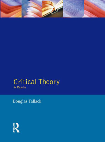 Critical Theory A Reader book cover