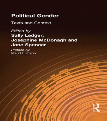 Political Gender Texts & Contexts book cover