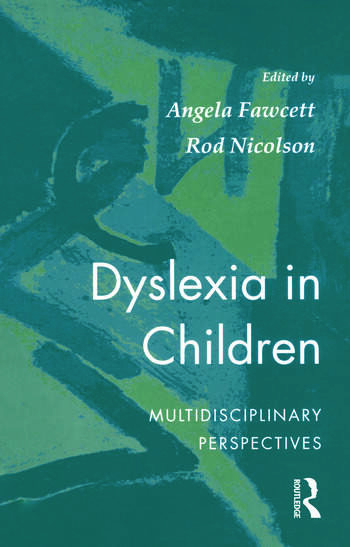 Dyslexia In Children book cover