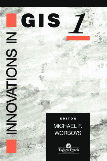 Innovations In GIS book cover