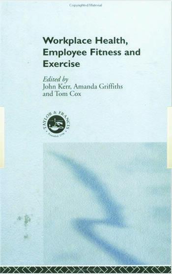 Workplace Health Employee Fitness And Exercise book cover