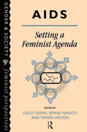 AIDS: Setting A Feminist Agenda book cover