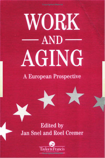 Work and Aging A European Prospective book cover