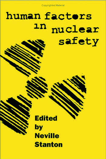 Human Factors in Nuclear Safety book cover
