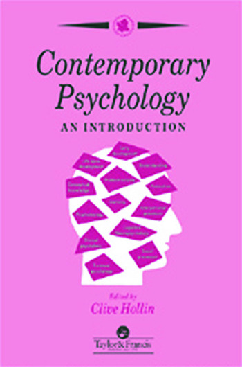 Contemporary Psychology An Introduction book cover