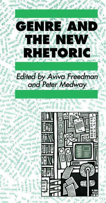 Genre In The New Rhetoric book cover