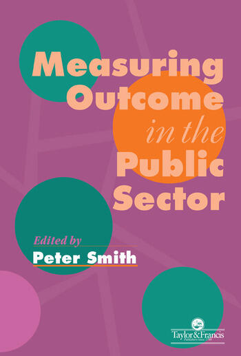 Measuring Outcome In The Public Sector book cover