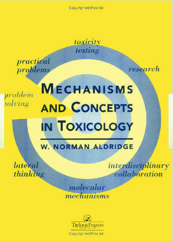 Mechanisms and Concepts in Toxicology book cover