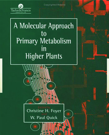 A Molecular Approach To Primary Metabolism In Higher Plants book cover
