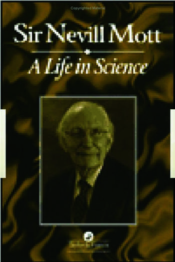 A Life In Science book cover