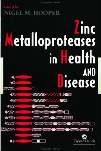 Zinc Metalloproteases In Health And Disease book cover