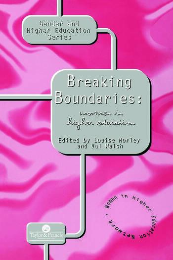 Breaking Boundaries Women In Higher Education book cover