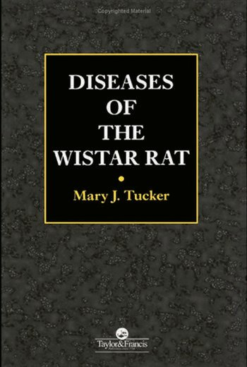 Dieseases of the Wistar Rat book cover