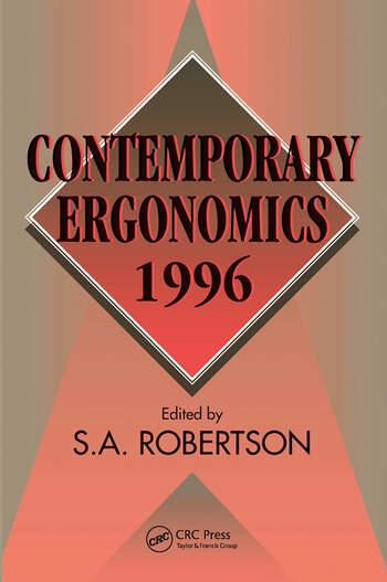 Contemporary Ergonomics 1996 book cover