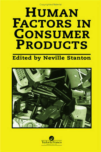 Human Factors In Consumer Products book cover