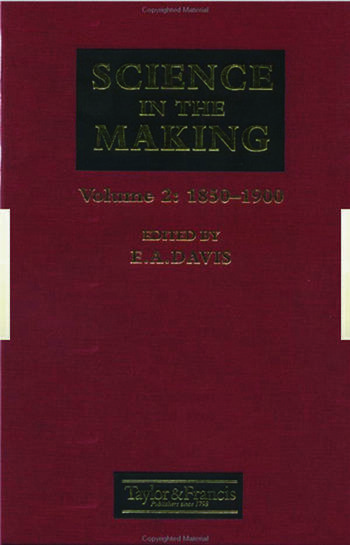 Science In The Making 1850-1900 book cover