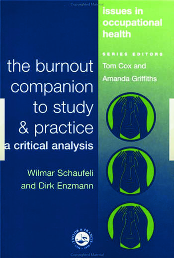 The Burnout Companion To Study And Practice A Critical Analysis book cover