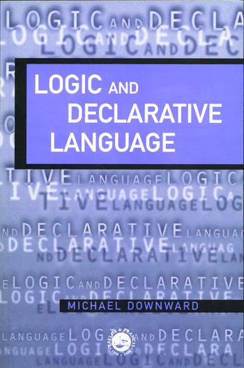 Logic And Declarative Language book cover