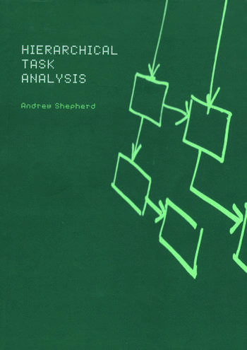 Hierarchial Task Analysis book cover