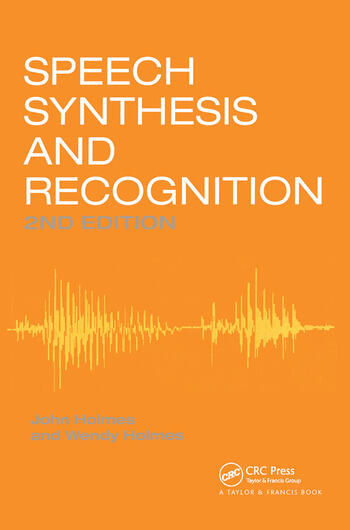 Speech Synthesis and Recognition book cover