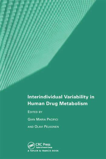 Interindividual Variability in Human Drug Metabolism book cover