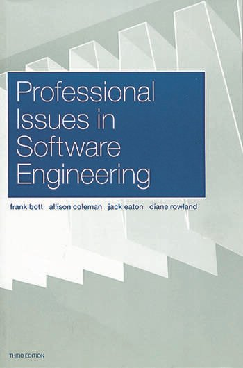 Professional Issues in Software Engineering book cover