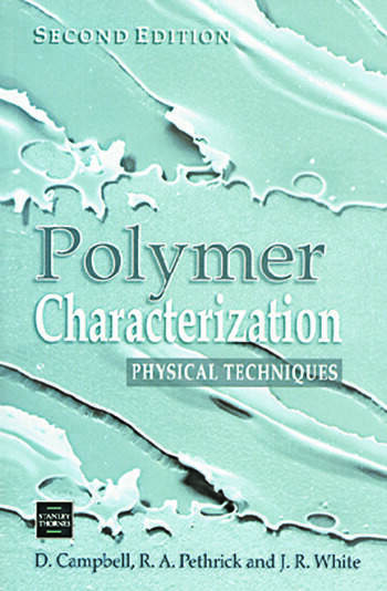 Polymer Characterization Physical Techniques, 2nd Edition book cover