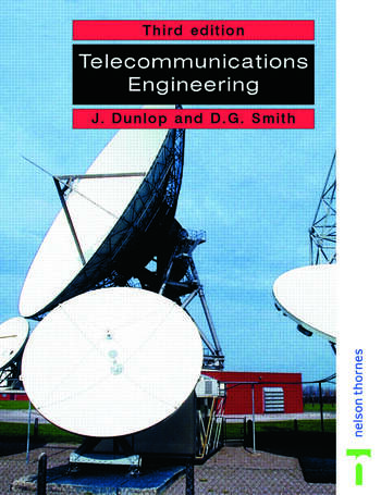 Telecommunications Engineering book cover