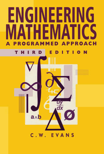 Engineering Mathematics A Programmed Approach, 3th Edition book cover