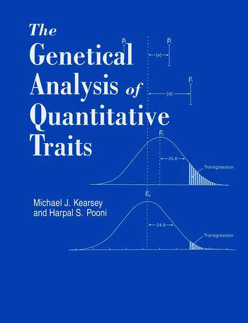 Genetical Analysis of Quantitative Traits book cover