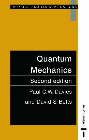 Quantum Mechanics, Second edition