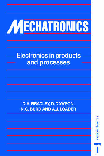 Mechatronics Electronics in Products and Processes book cover