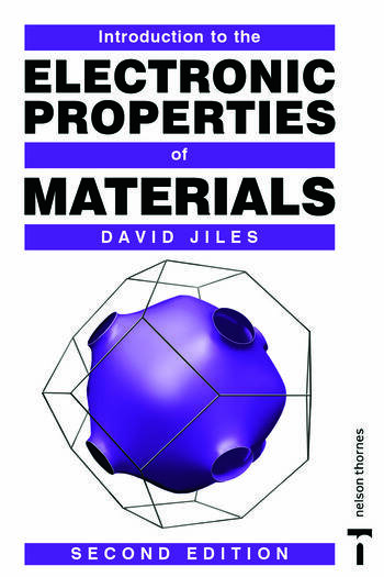 Introduction to the Electronic Properties of Materials book cover