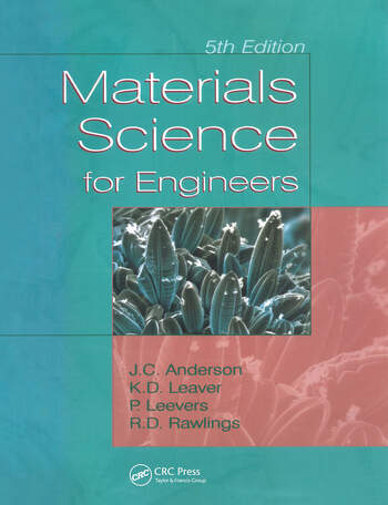 Materials Science for Engineers book cover
