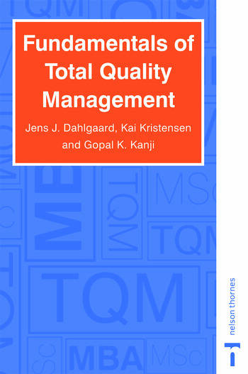 Fundamentals of Total Quality Management book cover