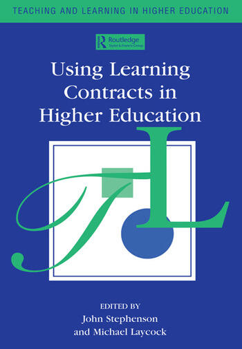 Using Learning Contracts in Higher Education book cover